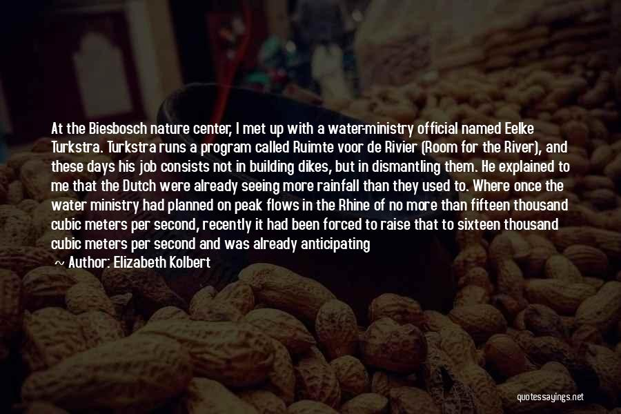 Ocean Water Quotes By Elizabeth Kolbert