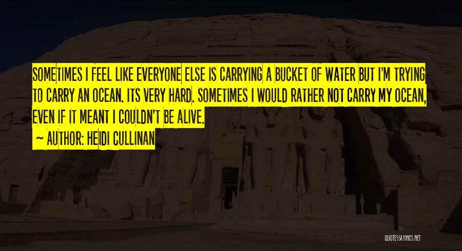 Ocean Water Quotes By Heidi Cullinan