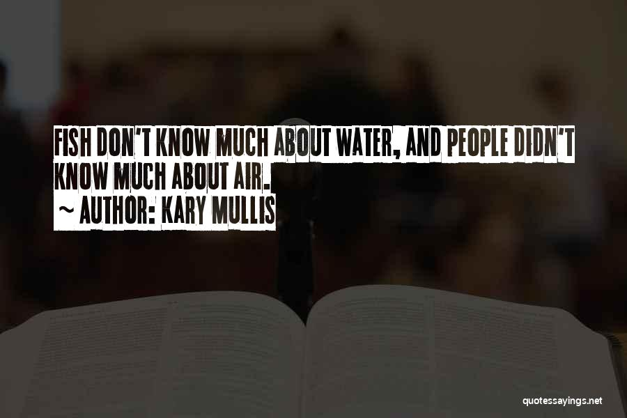 Ocean Water Quotes By Kary Mullis
