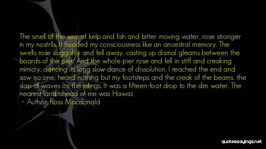 Ocean Water Quotes By Ross Macdonald