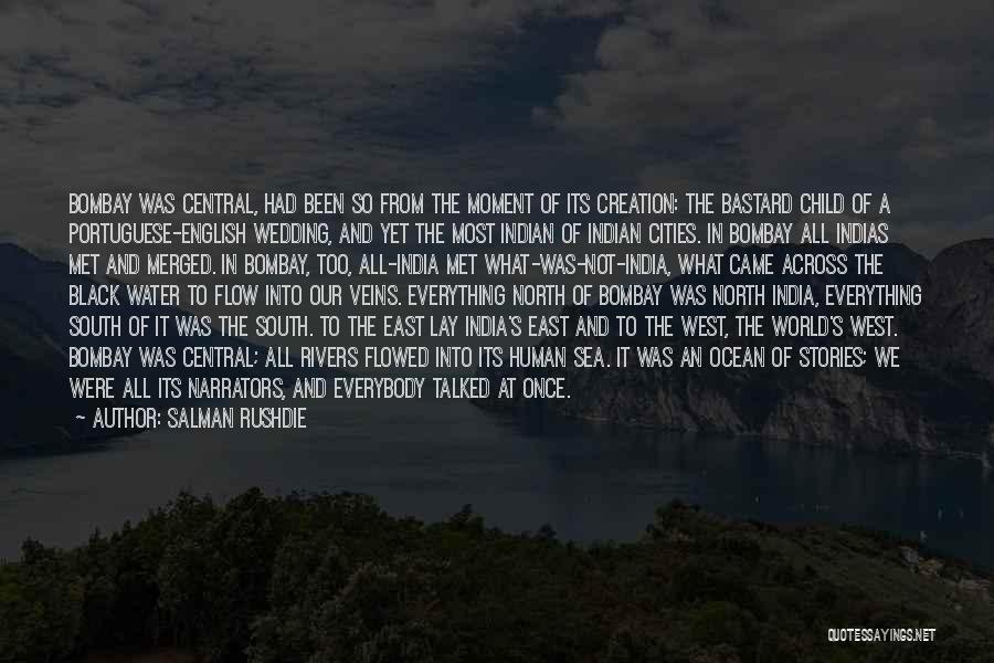 Ocean Water Quotes By Salman Rushdie