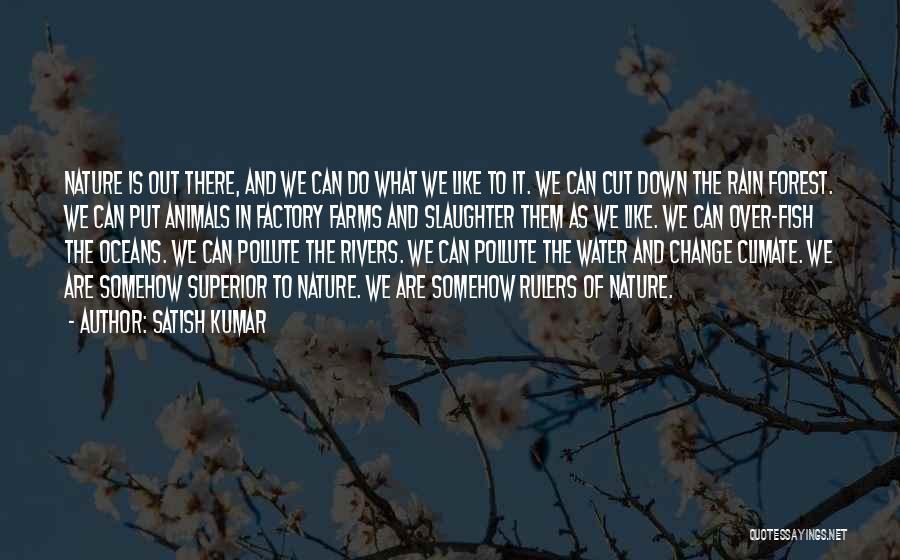 Ocean Water Quotes By Satish Kumar