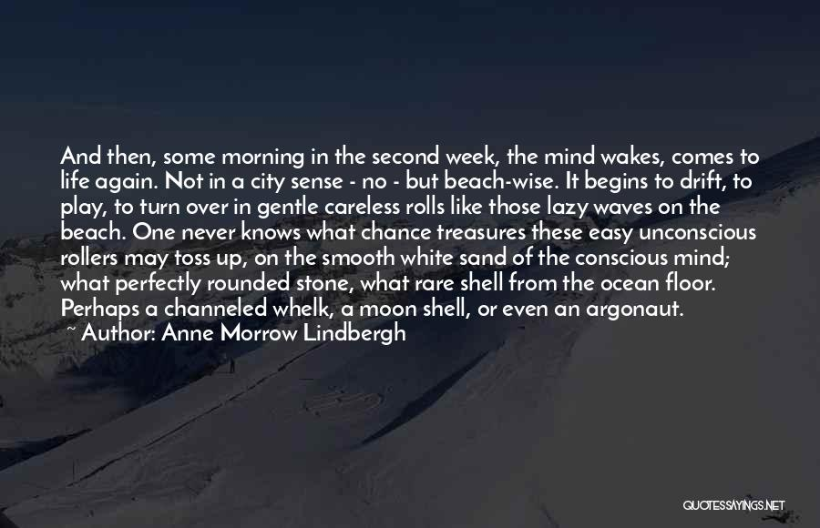 Ocean Waves Quotes By Anne Morrow Lindbergh