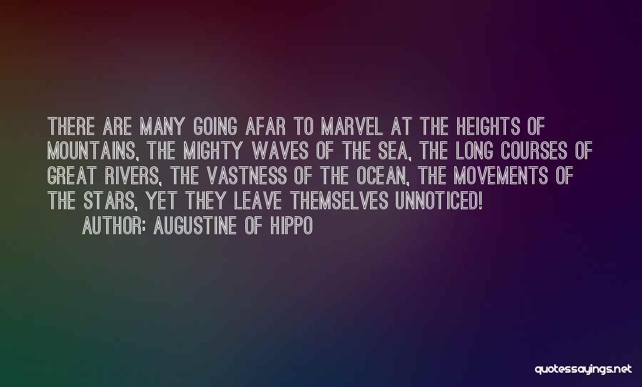 Ocean Waves Quotes By Augustine Of Hippo