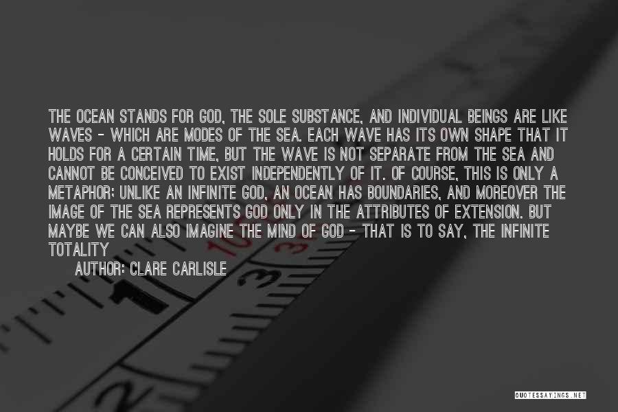 Ocean Waves Quotes By Clare Carlisle