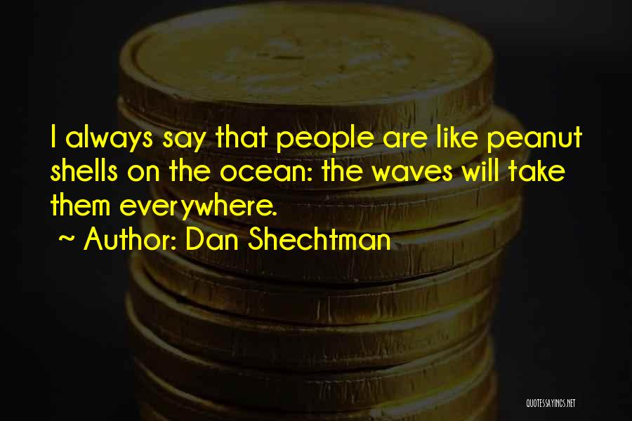 Ocean Waves Quotes By Dan Shechtman