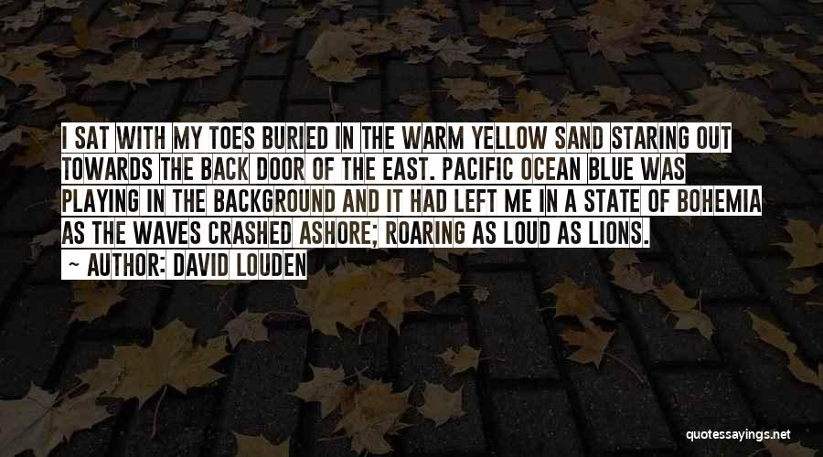 Ocean Waves Quotes By David Louden