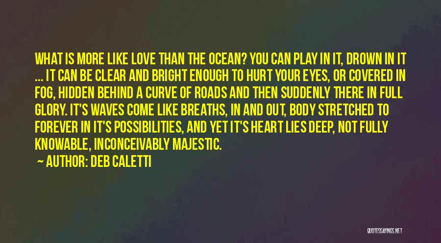 Ocean Waves Quotes By Deb Caletti