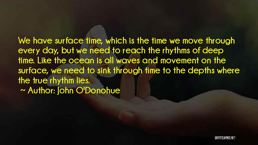 Ocean Waves Quotes By John O'Donohue