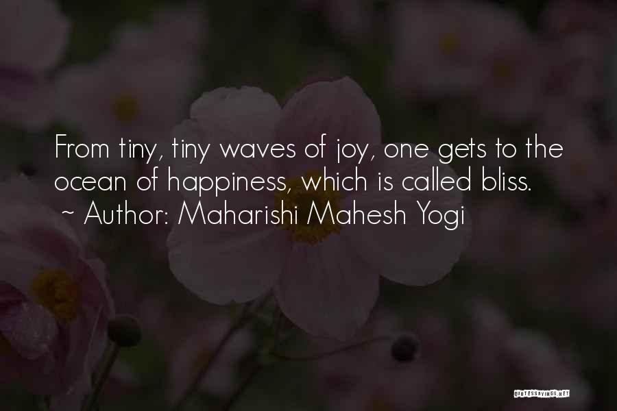 Ocean Waves Quotes By Maharishi Mahesh Yogi
