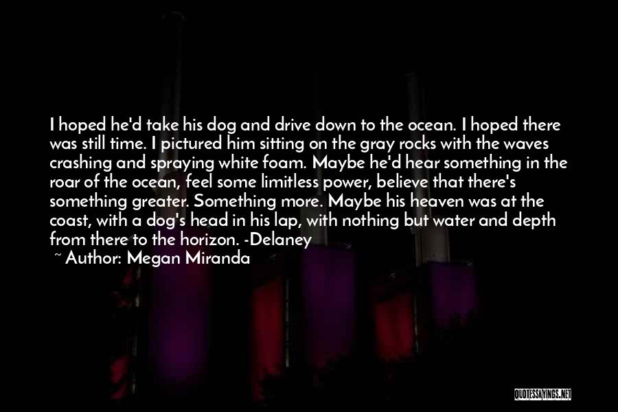 Ocean Waves Quotes By Megan Miranda