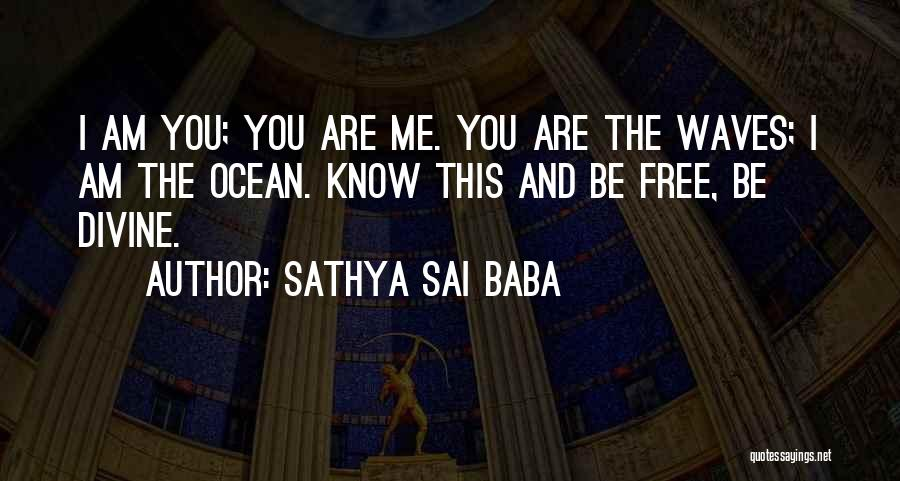 Ocean Waves Quotes By Sathya Sai Baba