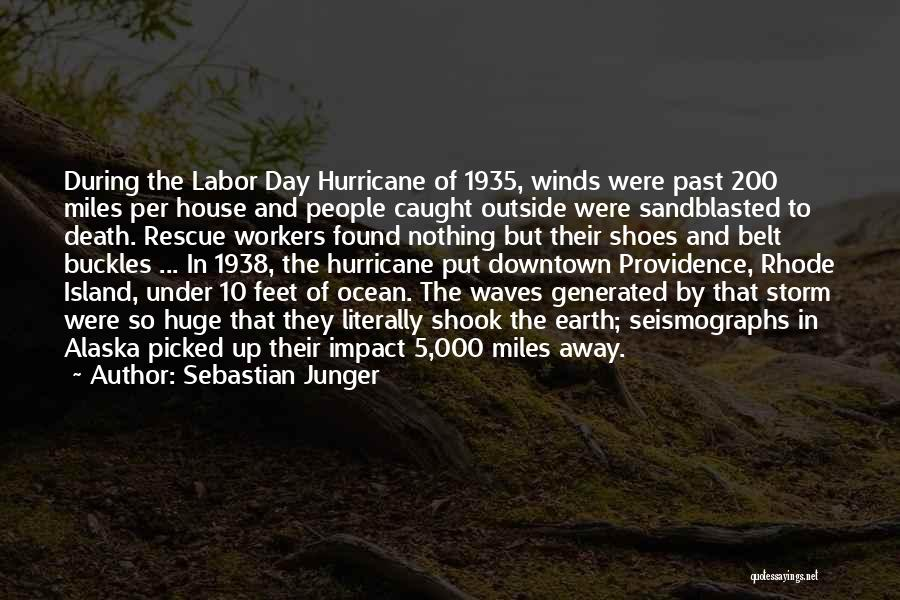 Ocean Waves Quotes By Sebastian Junger