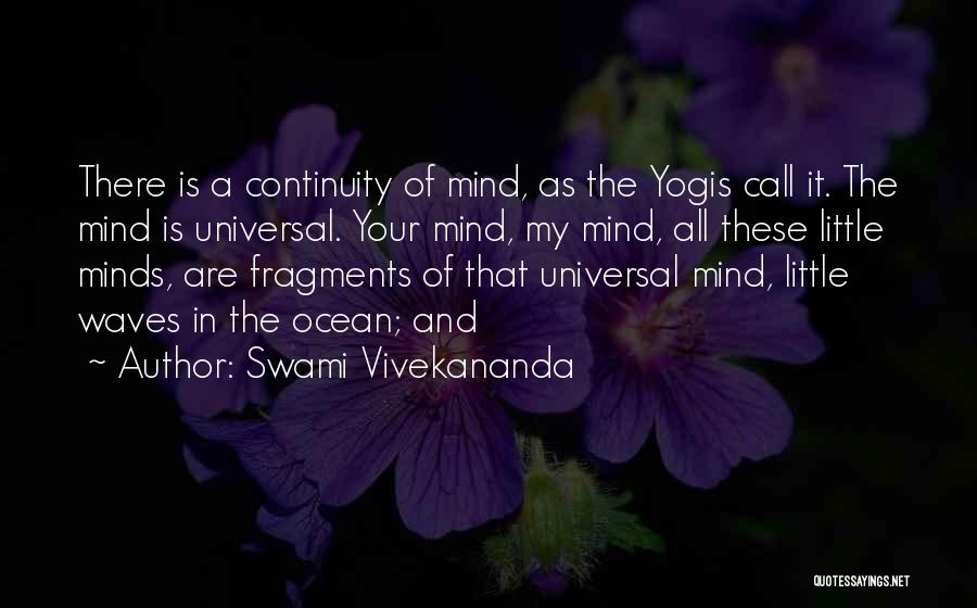Ocean Waves Quotes By Swami Vivekananda