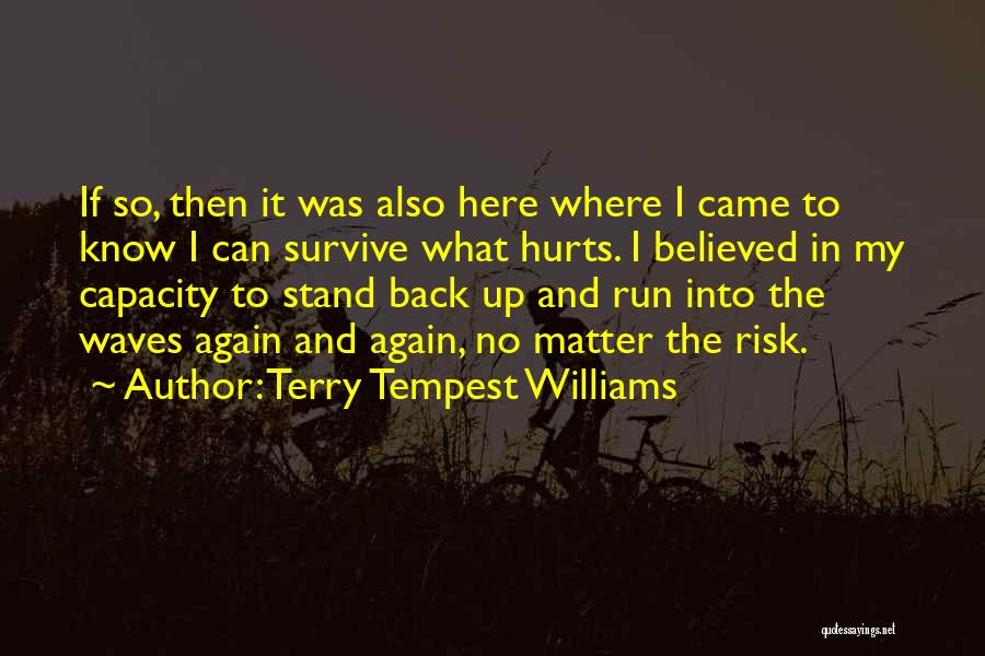 Ocean Waves Quotes By Terry Tempest Williams