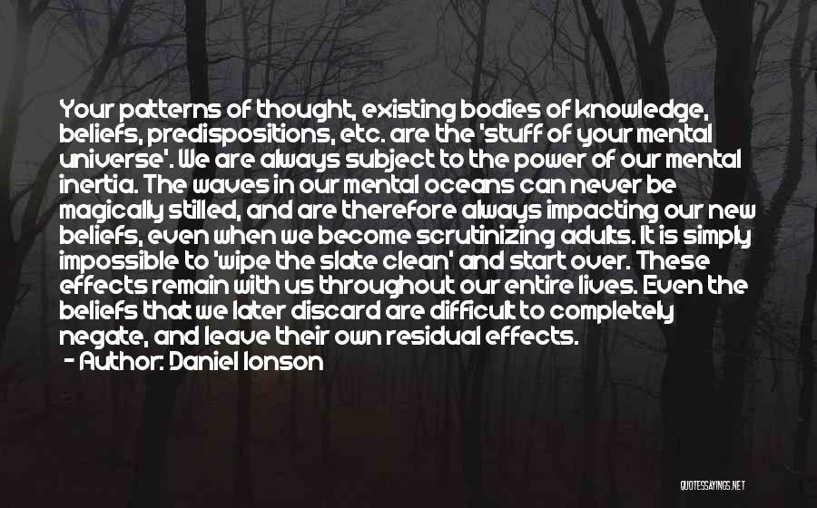 Oceans And Waves Quotes By Daniel Ionson