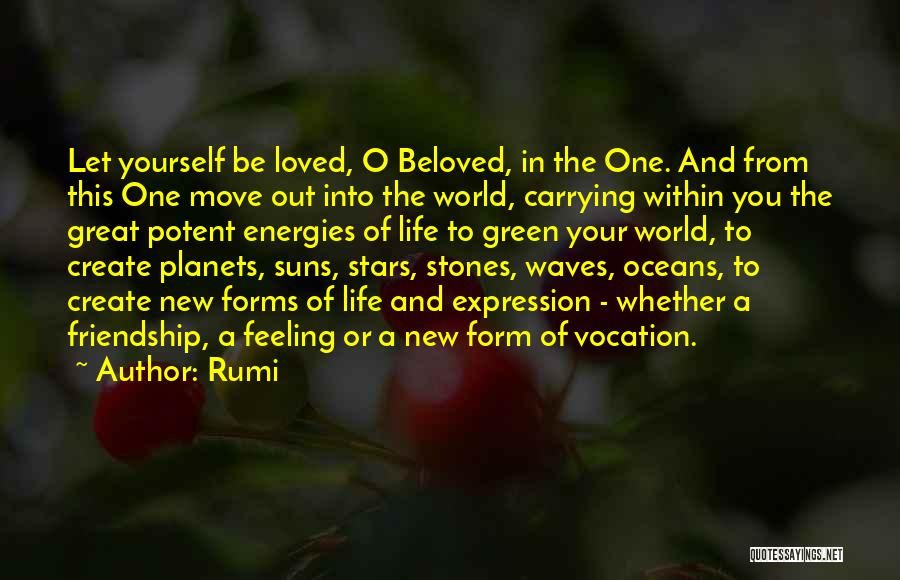 Oceans And Waves Quotes By Rumi