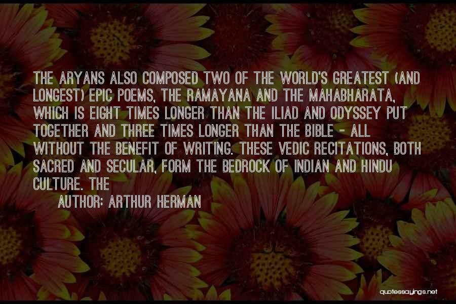 Odyssey Quotes By Arthur Herman