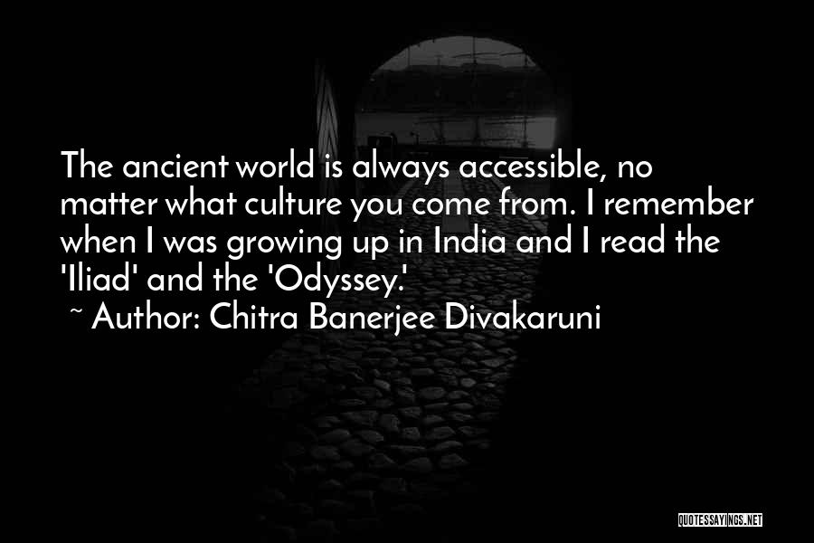 Odyssey Quotes By Chitra Banerjee Divakaruni