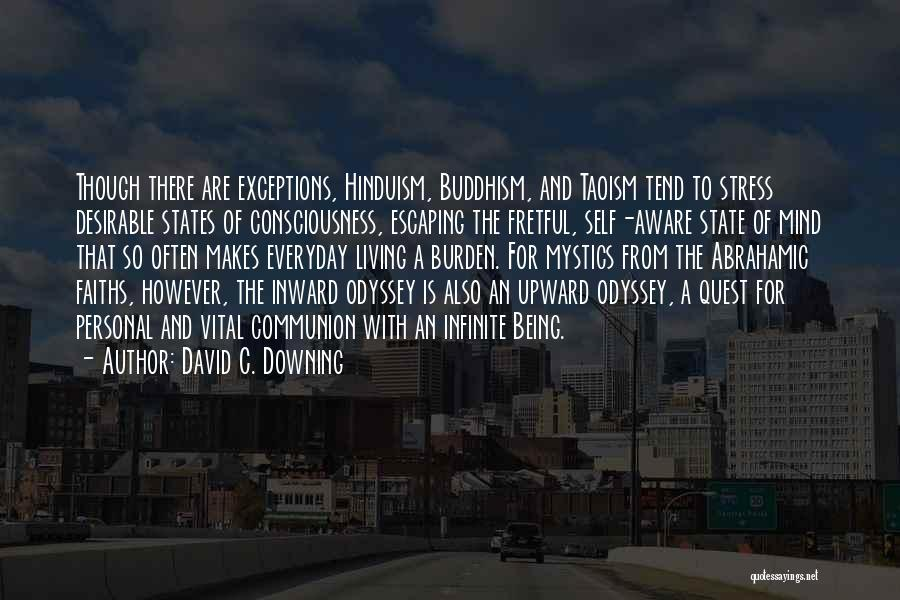 Odyssey Quotes By David C. Downing