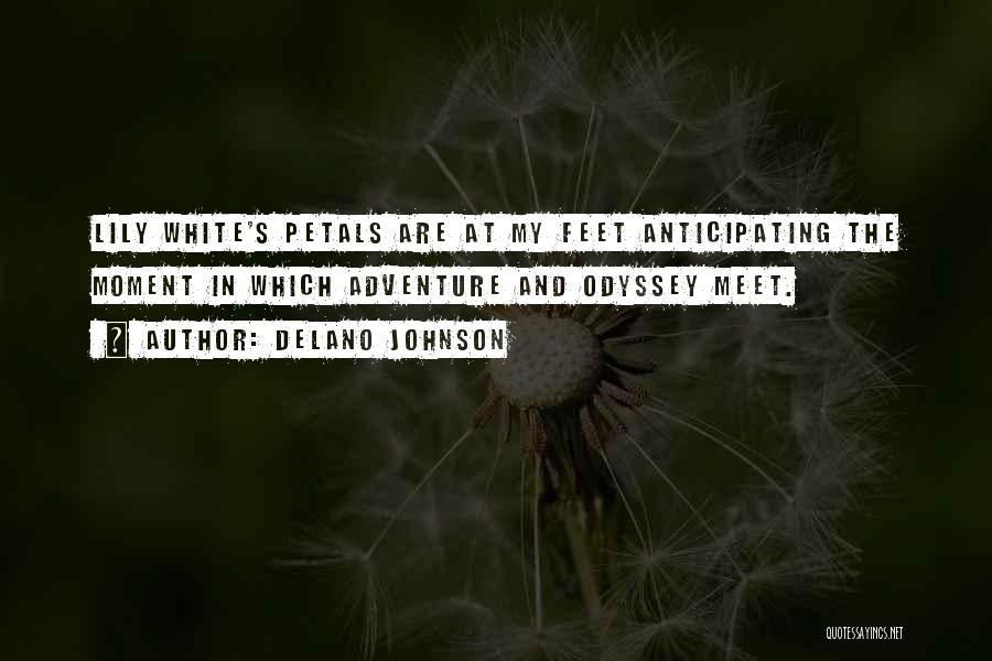 Odyssey Quotes By Delano Johnson