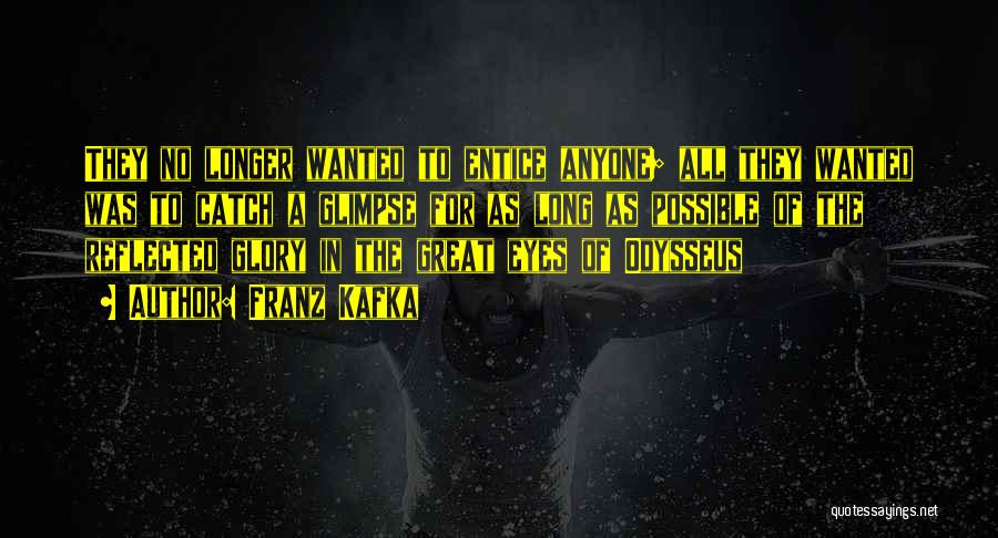 Odyssey Quotes By Franz Kafka