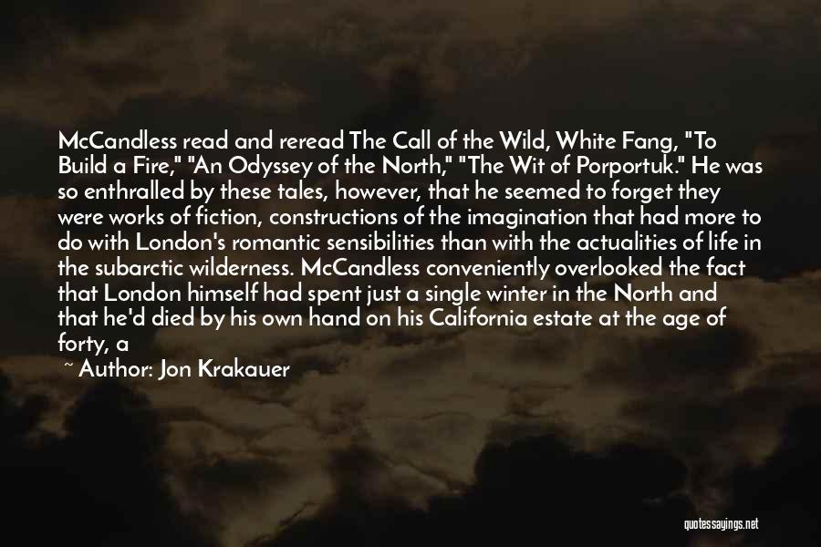 Odyssey Quotes By Jon Krakauer
