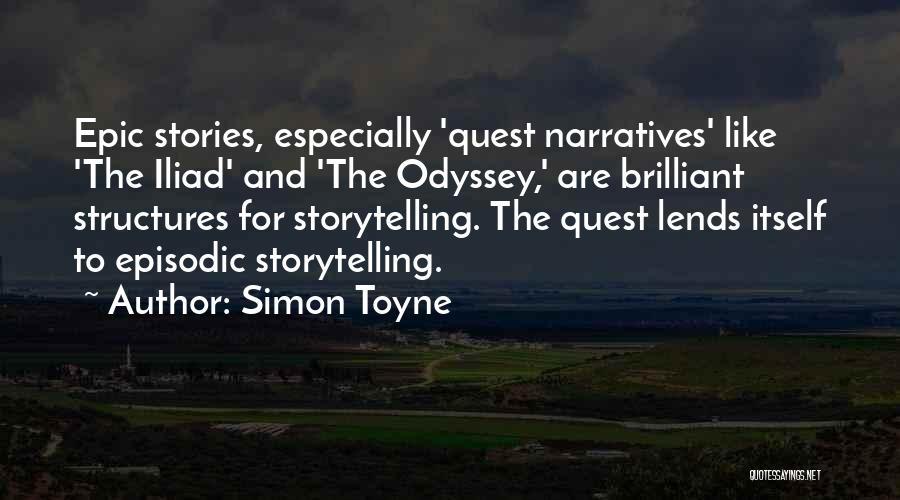 Odyssey Quotes By Simon Toyne