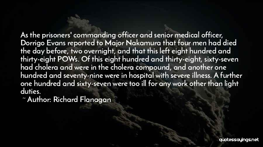 Of The Day Quotes By Richard Flanagan