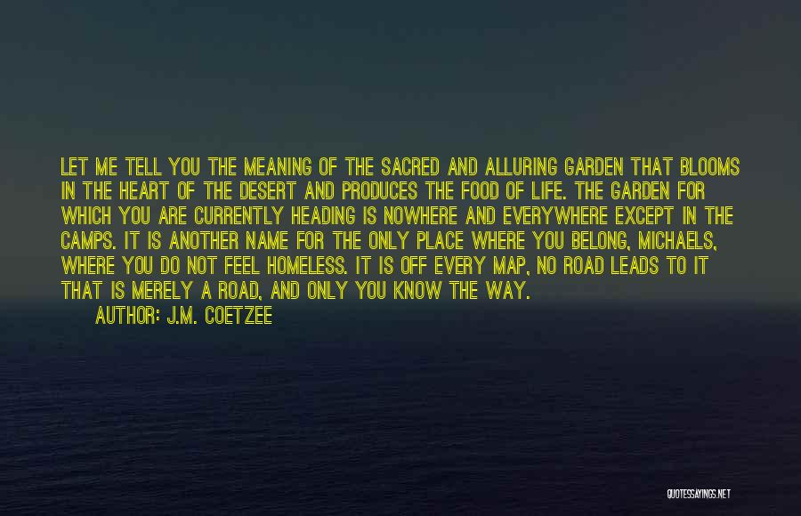 Off To Nowhere Quotes By J.M. Coetzee