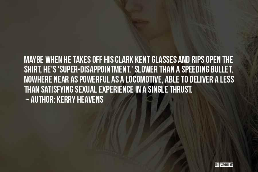 Off To Nowhere Quotes By Kerry Heavens