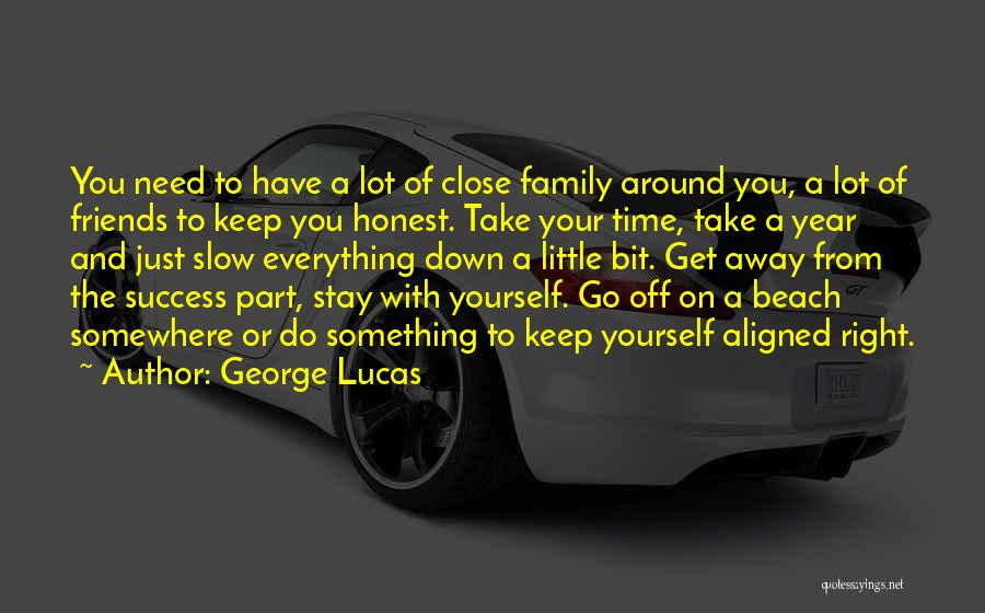 Off To The Beach Quotes By George Lucas
