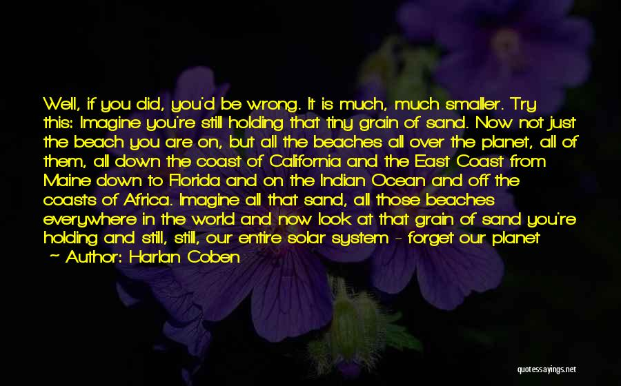Off To The Beach Quotes By Harlan Coben