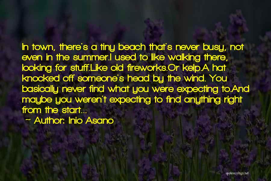 Off To The Beach Quotes By Inio Asano