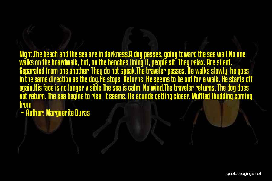 Off To The Beach Quotes By Marguerite Duras
