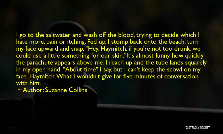 Off To The Beach Quotes By Suzanne Collins