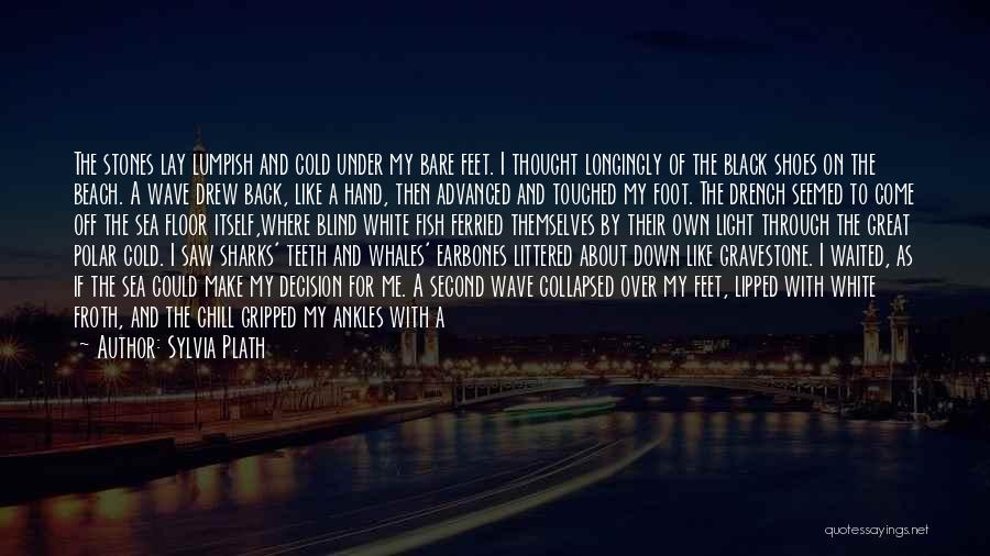 Off To The Beach Quotes By Sylvia Plath
