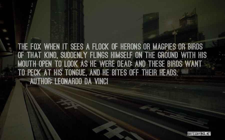 Off With Their Heads Quotes By Leonardo Da Vinci