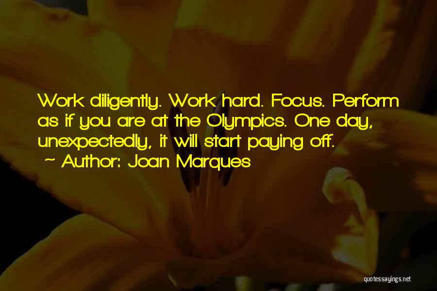 Off Work Quotes By Joan Marques