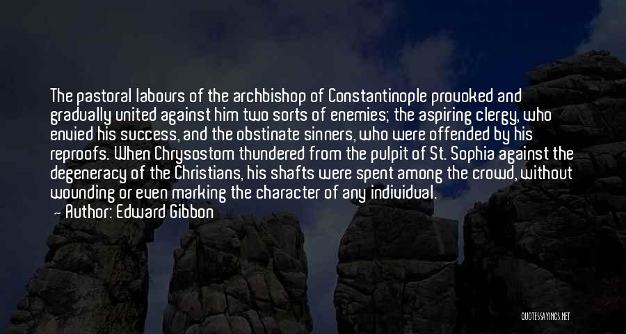 Offended Quotes By Edward Gibbon