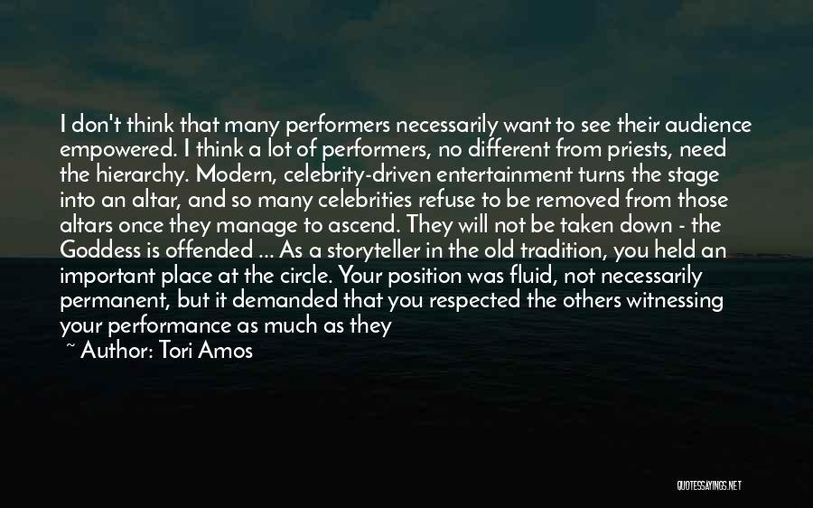 Offended Quotes By Tori Amos