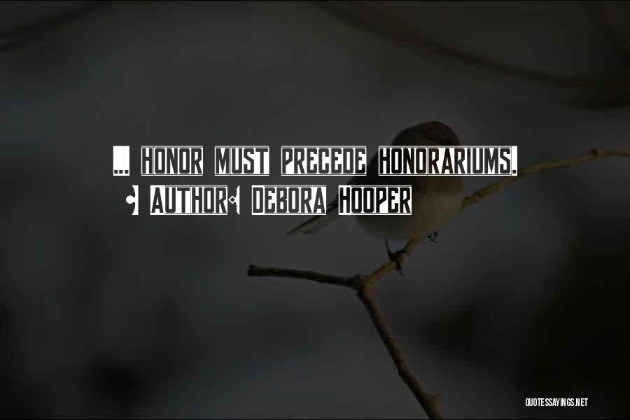 Offerings Quotes By Debora Hooper