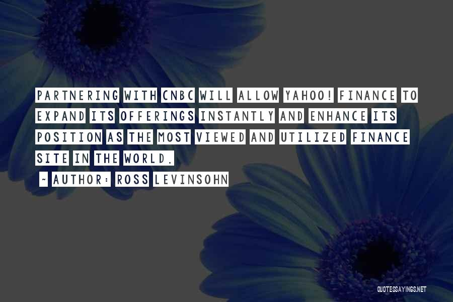 Offerings Quotes By Ross Levinsohn