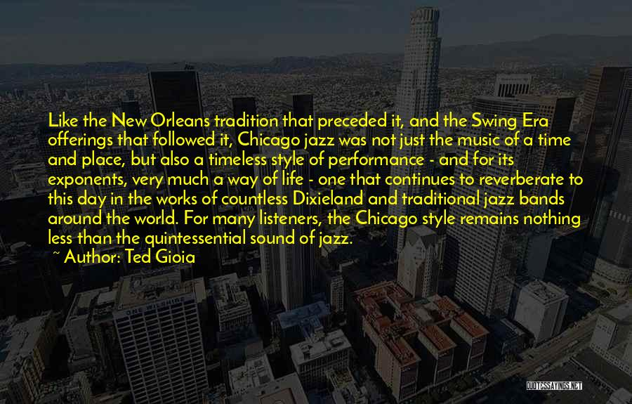 Offerings Quotes By Ted Gioia