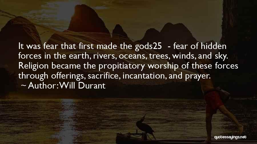 Offerings Quotes By Will Durant