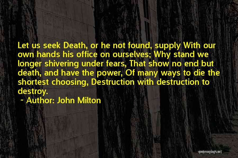 Office Supply Quotes By John Milton