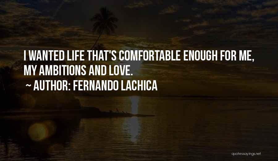 Ofw Life Quotes By Fernando Lachica
