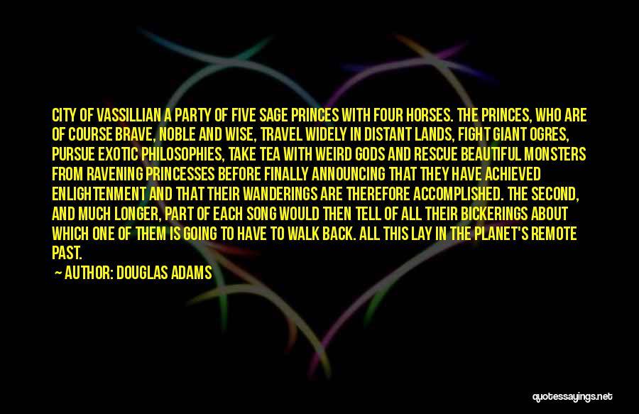 Ogres Quotes By Douglas Adams