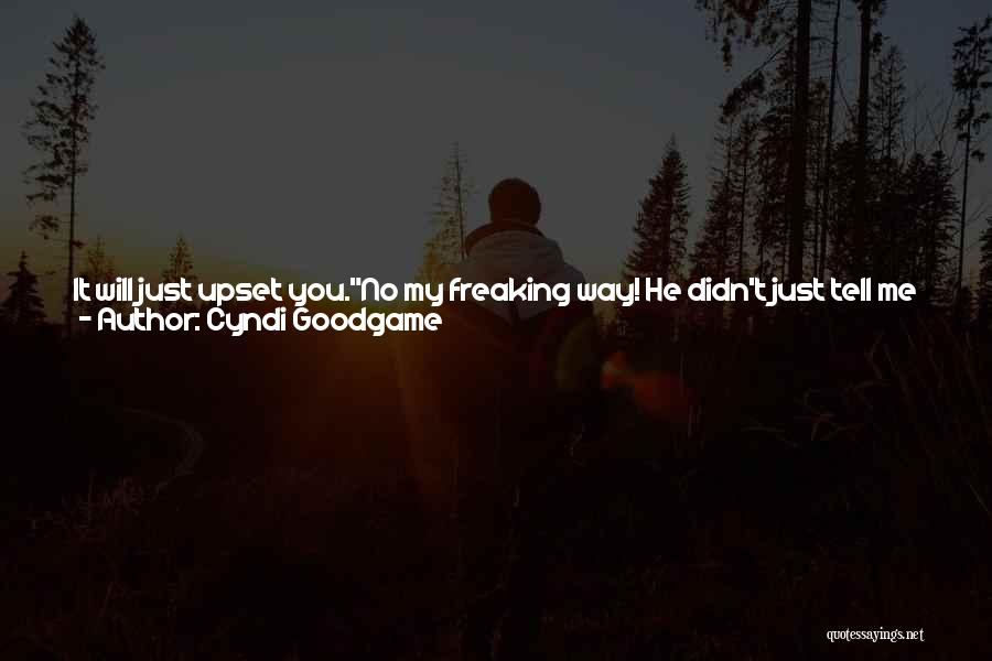 Oh Yes I Did Quotes By Cyndi Goodgame