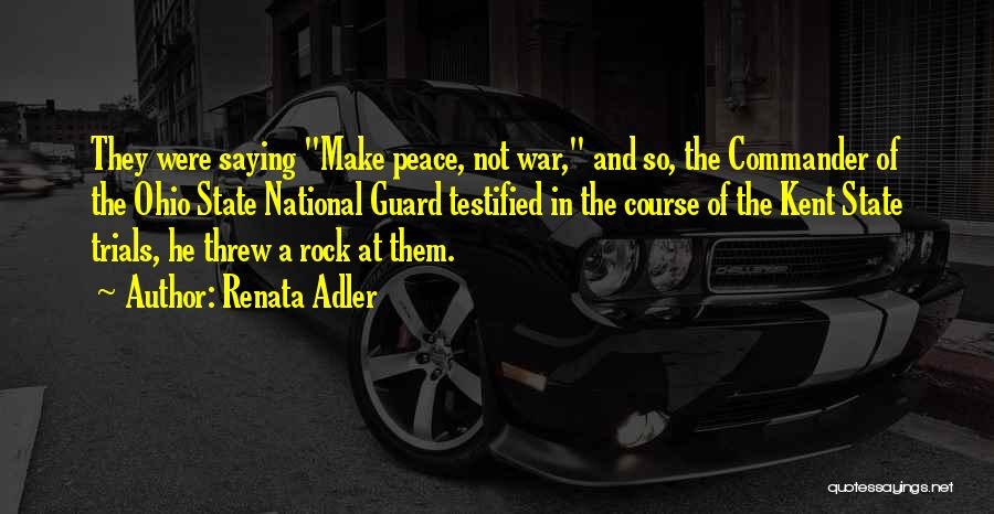 Ohio National Quotes By Renata Adler